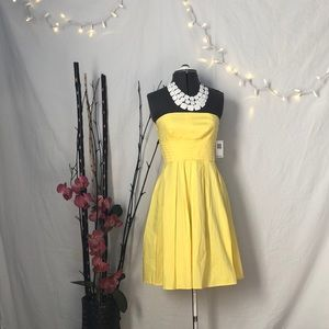 TEEZE ME Yellow Fit 'n Flare Dress! (WITH TAGS)
